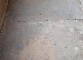 Bodenbeschichtung - vorher