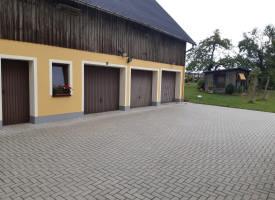 Fassade in Brünlos - nachher