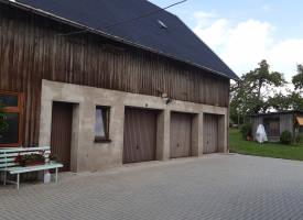 Fassade in Brünlos - vorher