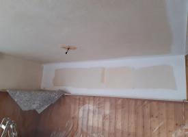Während der Renovierung im Vereinsheim